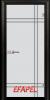 Стъклена интериорна врата Sand G 13 8 M