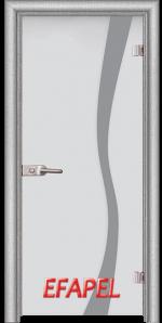 Стъклена интериорна врата Sand G 14 1 L