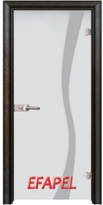 Стъклена интериорна врата Sand G 14 1 R