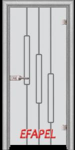 Стъклена интериорна врата Sand G 14 11 L