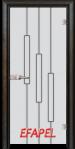 Стъклена интериорна врата Sand G 14 11 R
