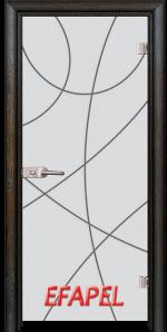 Стъклена интериорна врата Sand G 14 12 R