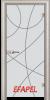 Стъклена интериорна врата Sand G 14 12 V
