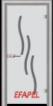Стъклена интериорна врата Sand G 14 2 L