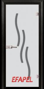 Стъклена интериорна врата Sand G 14 2 M