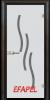 Стъклена интериорна врата Sand G 14 2 R
