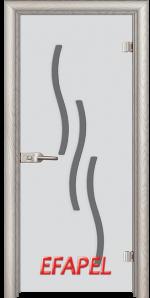 Стъклена интериорна врата Sand G 14 2 V
