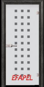 Стъклена интериорна врата Sand G 14 4 O