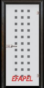 Стъклена интериорна врата Sand G 14 4 R