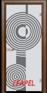 Стъклена интериорна врата Sand G 14 6 H