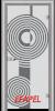 Стъклена интериорна врата Sand G 14 6 L