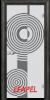 Стъклена интериорна врата Sand G 14 6 O
