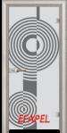 Стъклена интериорна врата Sand G 14 6 V