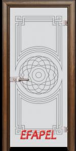 Стъклена интериорна врата Sand G 14 8 H