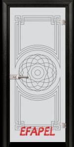 Стъклена интериорна врата Sand G 14 8 M