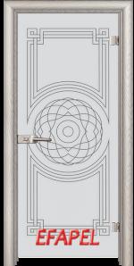 Стъклена интериорна врата Sand G 14 8 V