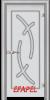 Стъклена интериорна врата Sand G 14 9 L