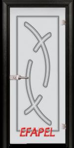 Стъклена интериорна врата Sand G 14 9 M